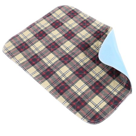 WALFRONT 6pcs sous-tapis réutilisable lavable imperméable enfants adulte coussin d'incontinence, coussin d'incontinence, sous-tapis réutilisable - image 7 de 8