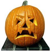 Advanced Graphics 923 Single Pumpkin Life-Size Cardboard Stand-Up