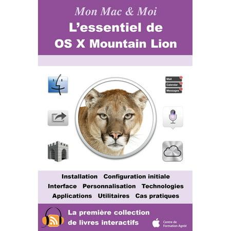 L'essentiel de OS X Mountain Lion - eBook