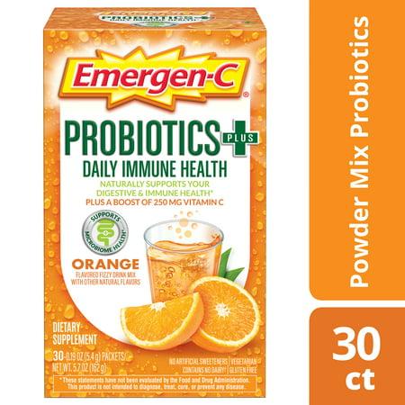Emergen-C Probiotics+ Orange 30ct