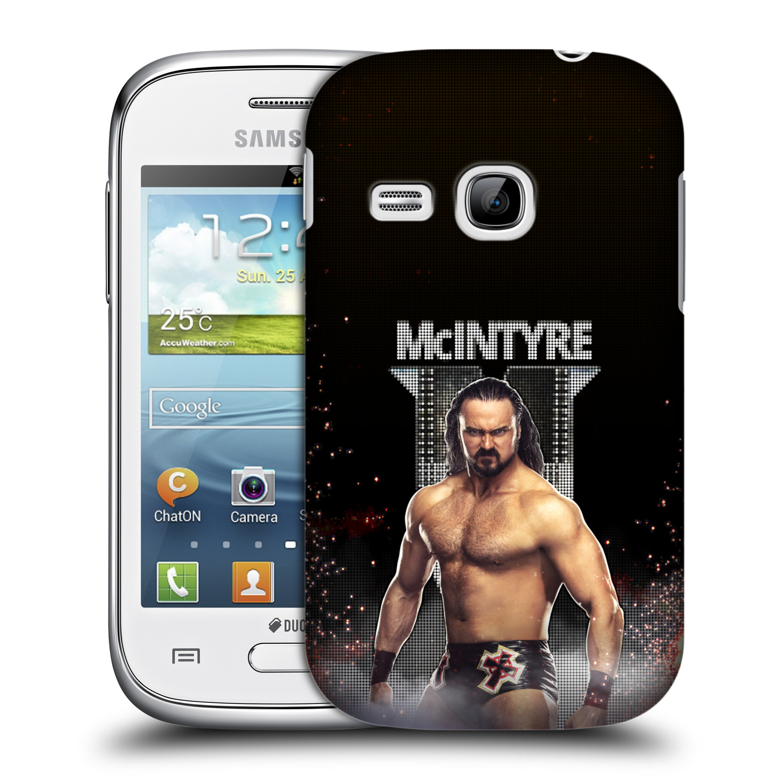OFFICIAL WWE DREW MCINTYRE HARD BACK CASE FOR SAMSUNG PHONES 5