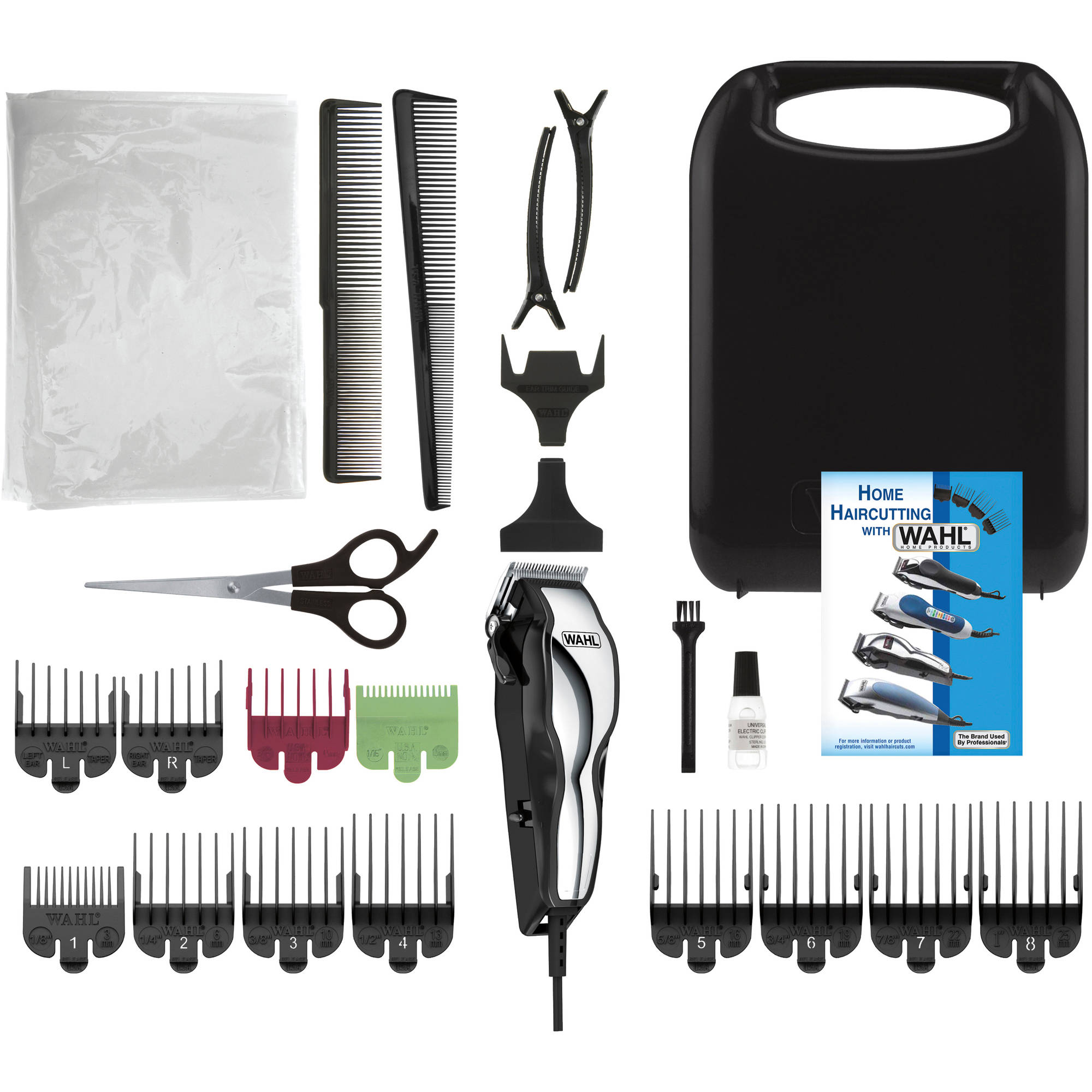WAHL Chrome Pro Home Haircutting Kit, Model 79520-3501