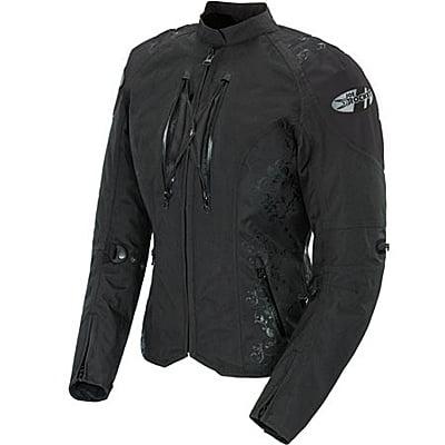 (Joe Rocket Atomic 4.0 Womens Textile Jacket Black/Black XL)