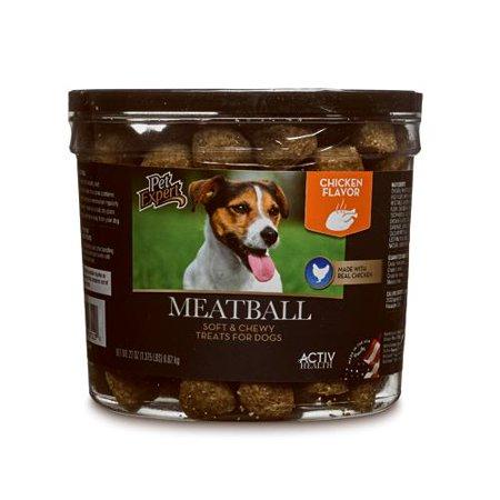 Sunshine Mills 07112 Dog Treats, Chicken Meatballs, 22-oz. (Chicken Meatballs)