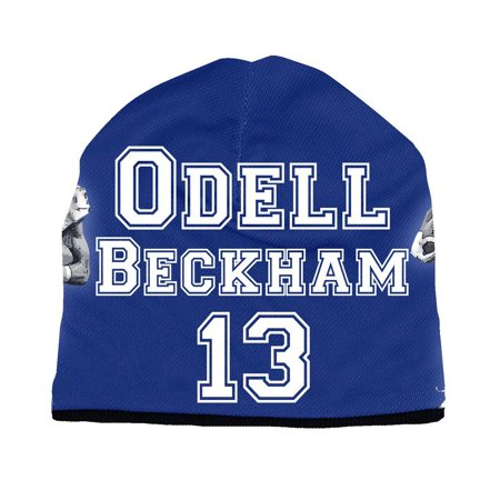 Erazor Bits New York Giants Odell Beckham JR NFL Football Beanie Cap, Blue