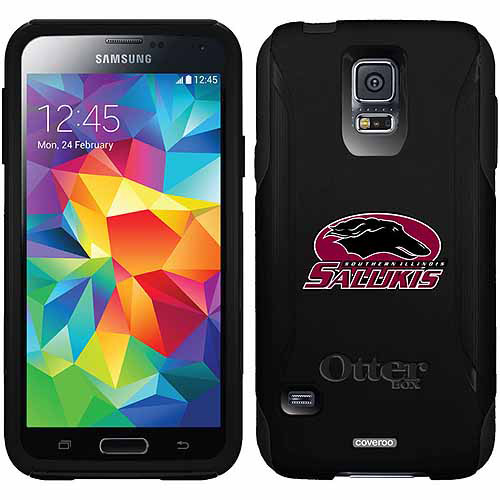 Southern Illinois Primary Mark Design on OtterBox Commuter Series Case for Samsung Galaxy S5