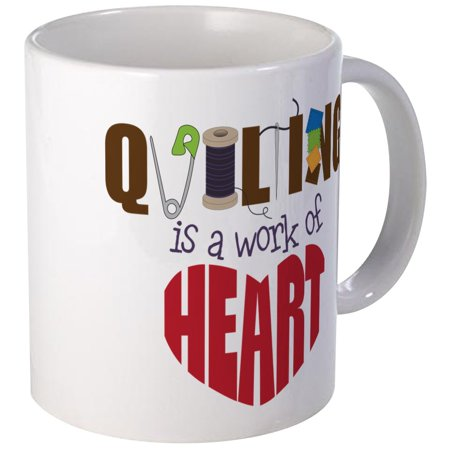 CafePress - Quilting Mug - Unique Coffee Mug, Coffee Cup CafePress