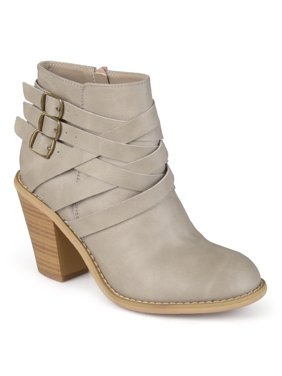 Brinley Co. Women's Ankle Multi Strap Boots