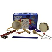 Rhythm Band BB225RS - Bing Bang Boom 10-Player Rhythm Kit - Includes DVD