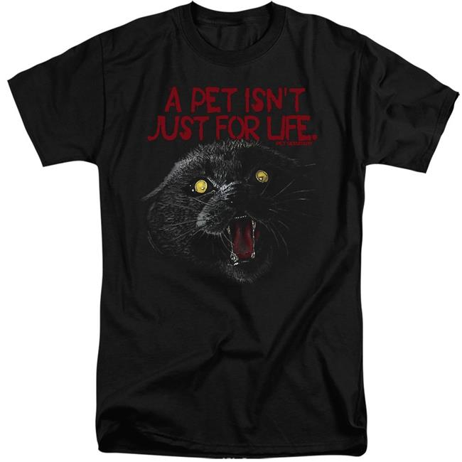New Pet Sematary Movie 2019 Black T Shirt Size S-3XL
