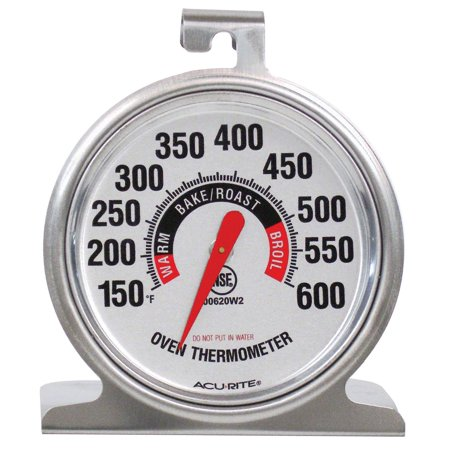 00620A2 Stainless Steel Oven Thermometer..., By AcuRite Ship from US