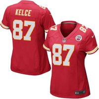 4ab7fafa378 Product Image Travis Kelce Kansas City Chiefs Nike Women's Game Jersey - Red