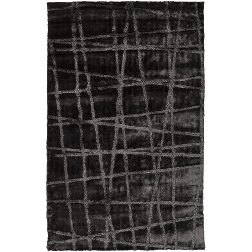 Surya Graph 2' x 3' Hand Woven Rug in Gray