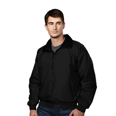 Tri-Mountain Volunteer 8000 Lightweight Nylon jacket, 2X-Large, Black/Black