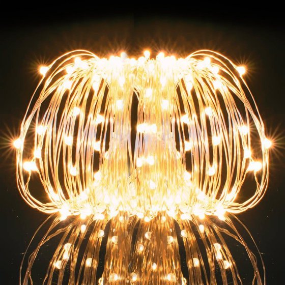 Kohree Usb 33ft Copper Wire 100 Led Fairy Starry String