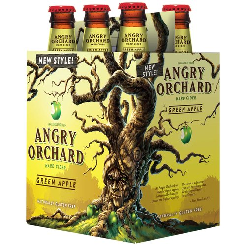Angry Orchard Green Apple Hard Cider, 6 pack, 12 fl oz