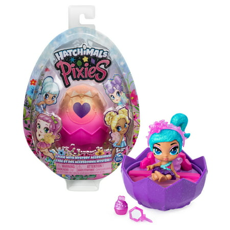 Pixie Girl Presents (Hatchimals Pixies, 2.5-Inch Collectible Doll and Accessories (Styles May Vary), for Kids Aged 5 and)