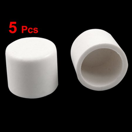 Unique Bargains White 20mm Outside Dia Pipe Glue On PVC Slip Caps 5 (Glue Pvc Piping)