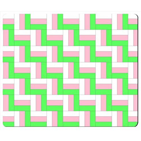 - POPCreation ZigZag Rail Fence Quilt Pattern Mouse pads Gaming Mouse Pad 9.84x7.87 inches