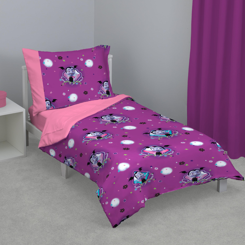 Disney Vampirina 4-Piece Toddler Bed Set