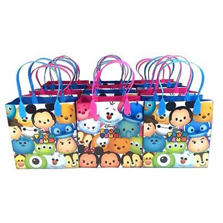 Birthday Loot Bags (New 12PCS Disney Tsum Tsum Licensed Goodie Party Favor Gift Birthday Loot Bags )