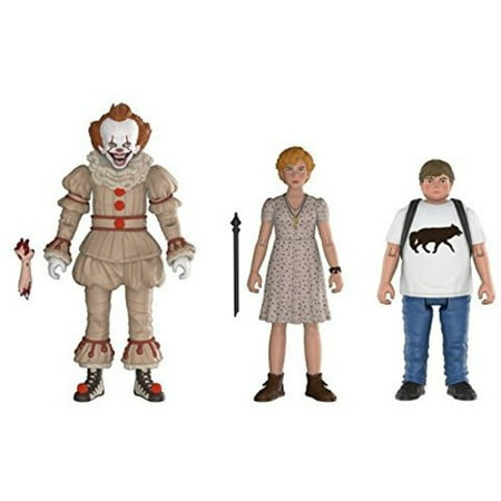FUNKO ACTION FIGURES: IT - Pennywise, Beverly, Ben 3PK