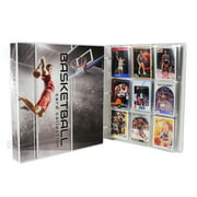 Basketball Trading Card Collection Album Kit, 10 Pages Included (No Cards)