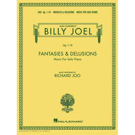Billy Joel - Fantasies & Delusions: Music for Solo Piano, Op. 1-10 (Billy Joel Piano Man Piano Sheet Music)