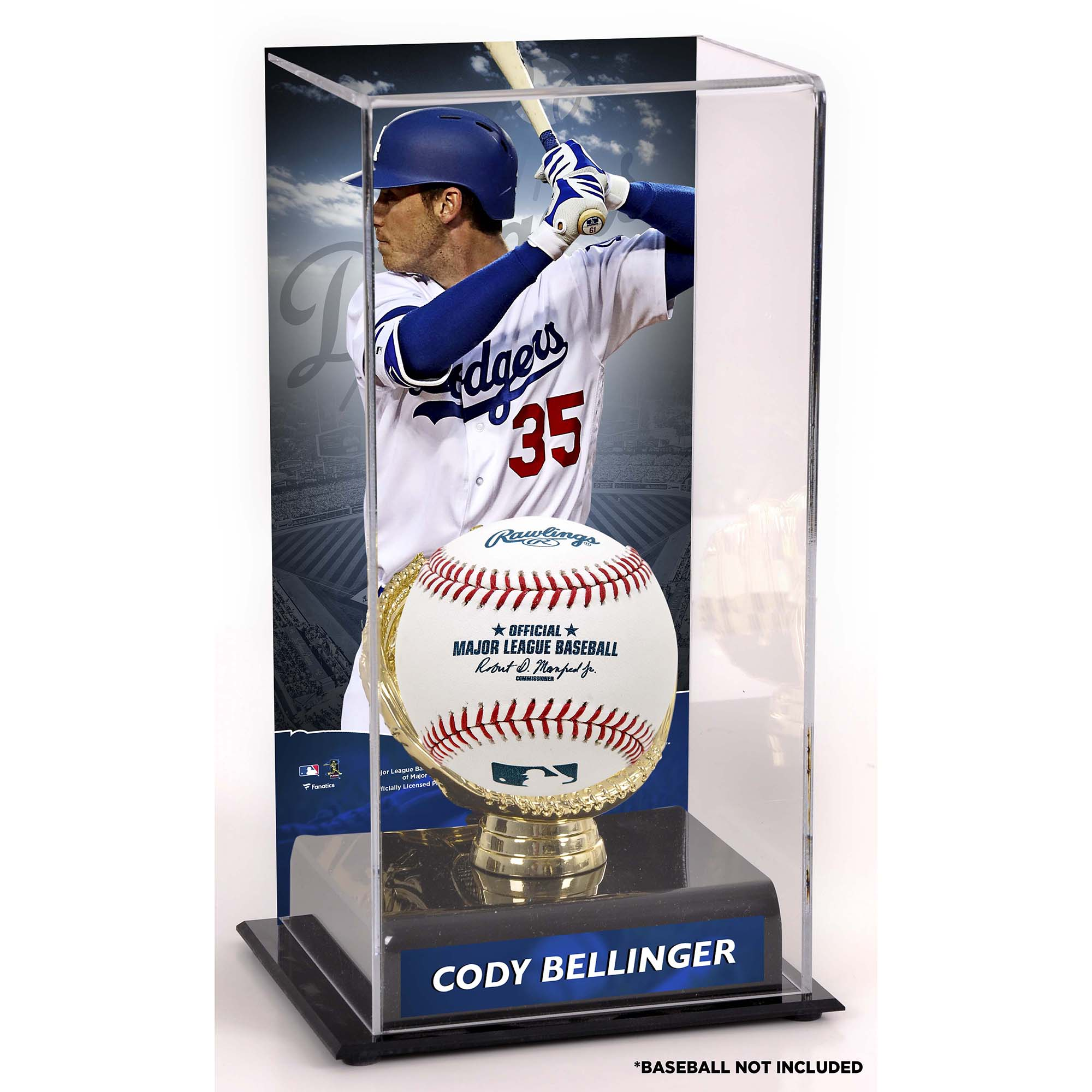 Cody Bellinger Los Angeles Dodgers Fanatics Authentic Sublimated Display Case with Gold Glove Holder - No Size