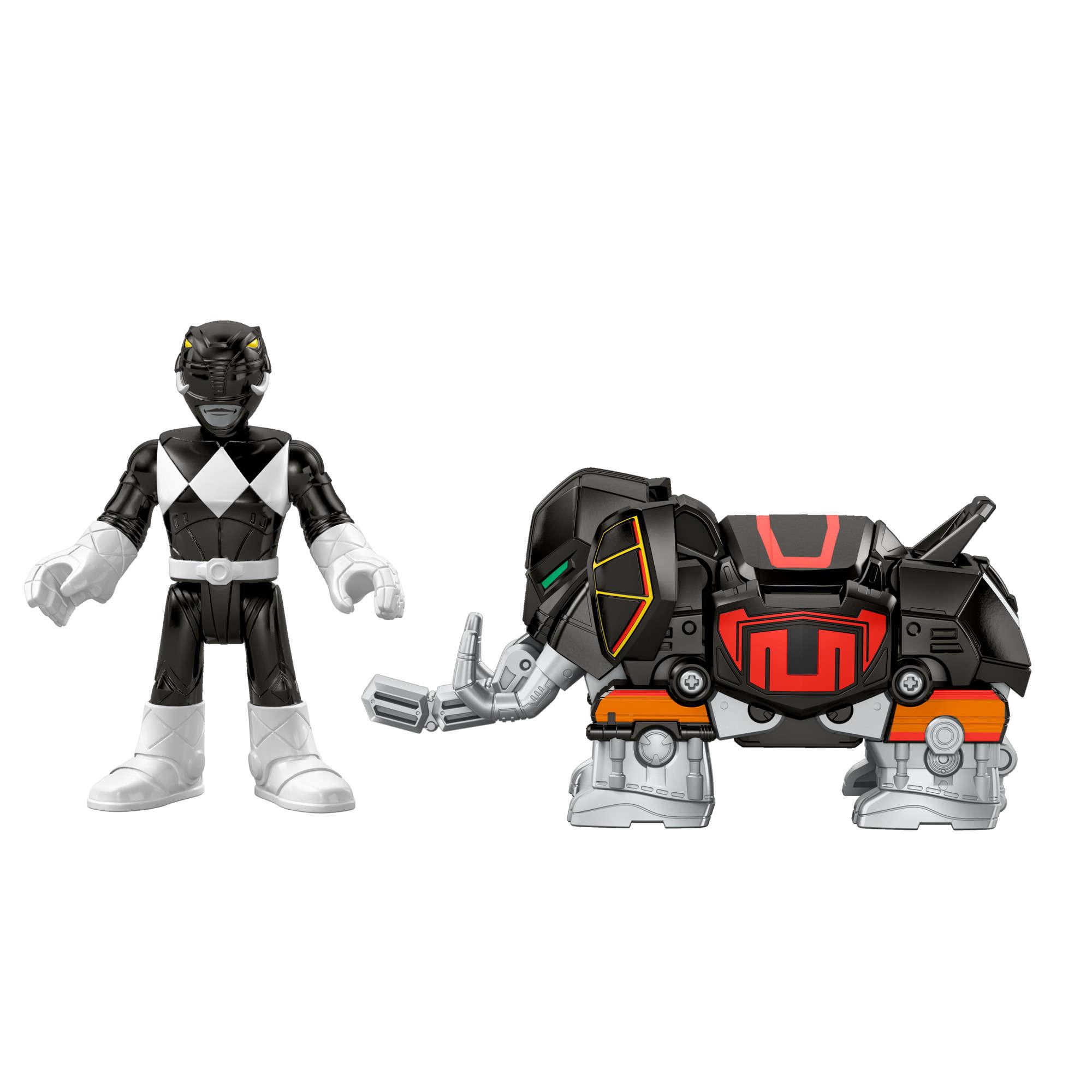 IMaginext Power Rangers Battle Armor Black Ranger by Fisher-Price