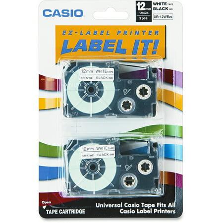 Laminated Tape Thermal Cartridge - Casio EZ-Label Printer Tape Cartridges