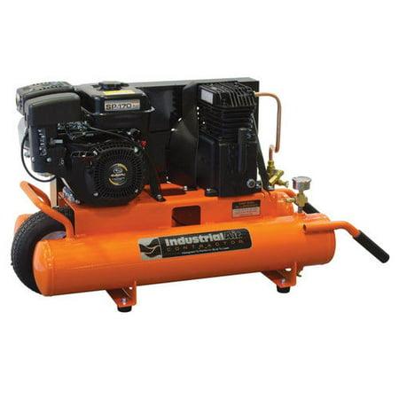 Industrial Air Cta5590856 Contractor 6 Hp 8 Gallon Oil Lube Twin Tank Wheelbarrow Air Compressor With Subaru Engine