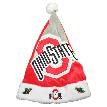 Ohio State Buckeyes 2018 NCAA Basic Logo Plush Christmas Santa Hat](Ncaa Logo)
