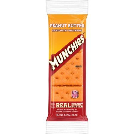Munchies Peanut Butter Sandwich Crackers (32 - Halloween Munchies