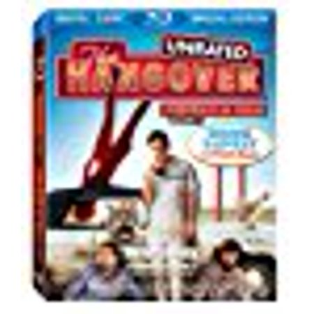 The Hangover  Unrated   Blu Ray   Blu Ray   2009  Zach Galifianakis