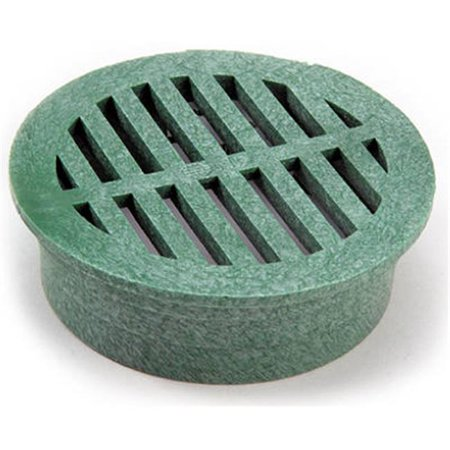 16 3 in. Green Round Structural Foam Polyolefin Grate ()