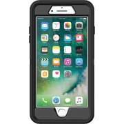 (Refurbished) OtterBox DEFENDER SERIES Case & Holster for iPhone 7 / iPhone 8 - Black