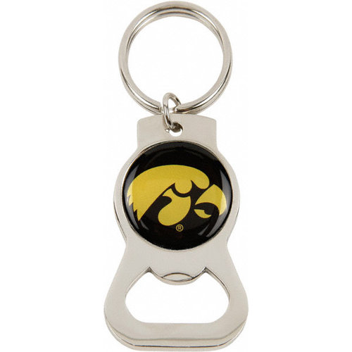 NCAA - Iowa Hawkeyes Bottle Opener Keychain