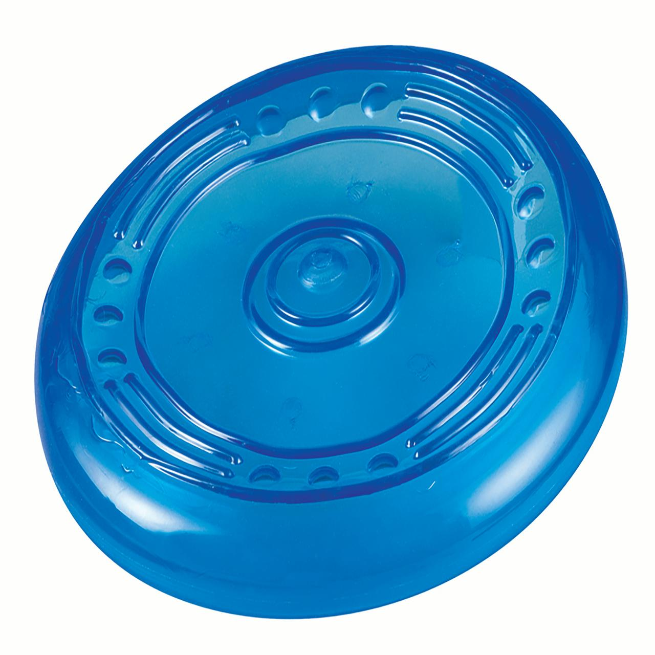 Orka Flyer Rubber Durable Frisbee Chew and Fetch Toy for Dogs