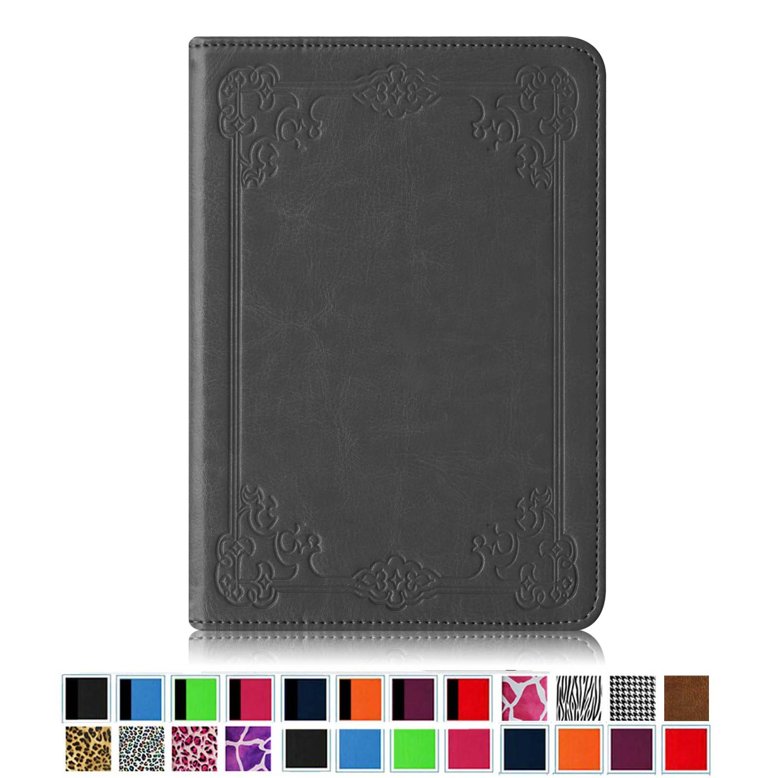 Fintie Case for Amazon Kindle Paperwhite - The Book Style PU Leather Folio Cover with Auto Sleep/Wake