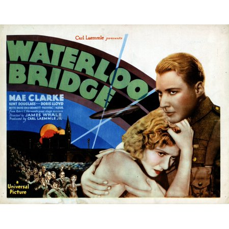Waterloo Bridge From Left Mae Clarke Douglass Montgomery 1931 Movie Poster Masterprint