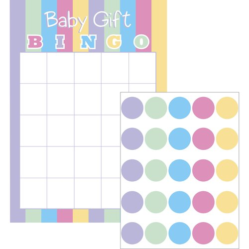 Way to Celebrate Baby Bingo Game