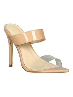 29eb500a4e Product Image Women Open Pointy Toe Stiletto Mule Heel 18302. Product TitleAnne  MichelleWomen ...