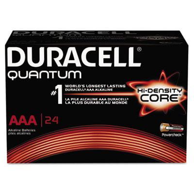 Quantum Alkaline Batteries with Duralock Power Preserve Technology DURQU2400BKD