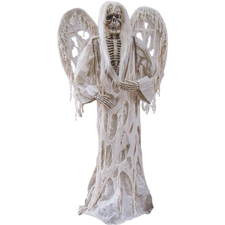 Fun World Gauze Demon with Wings - Halloween Greeter