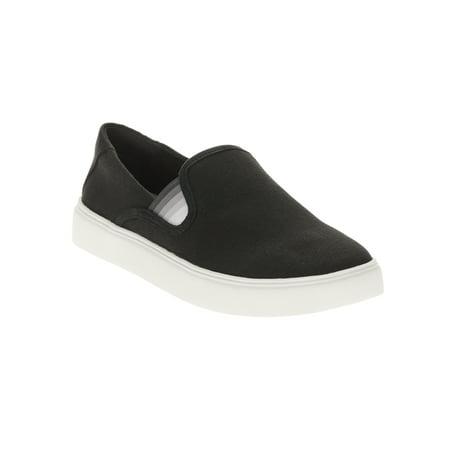 - EV1 from Ellen DeGeneres Women's Slip On Sneaker (Black)