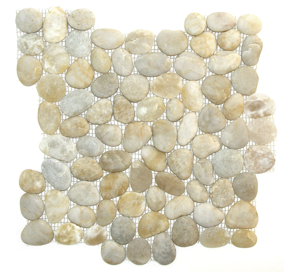 10 Sq Ft. Of  Maui  Interlocking 12x12 Matte Pebbles
