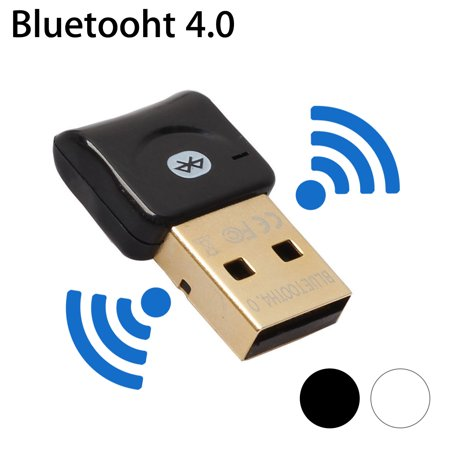 EEEkit USB Bluetooth 4.0 CSR Adapter Dongle for PC Laptop Computer Desktop Stereo Music, Skype Calls, Keyboard, Mouse, Support All Windows 10 8.1 8 7 XP