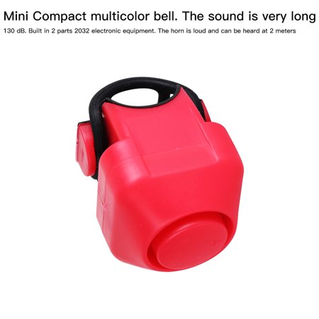 Bike Electric Horn 130dB Loud Alarm Siren Bicycle Handlebar Mounted Warning Bell Cycling Accessory - image 8 of 10