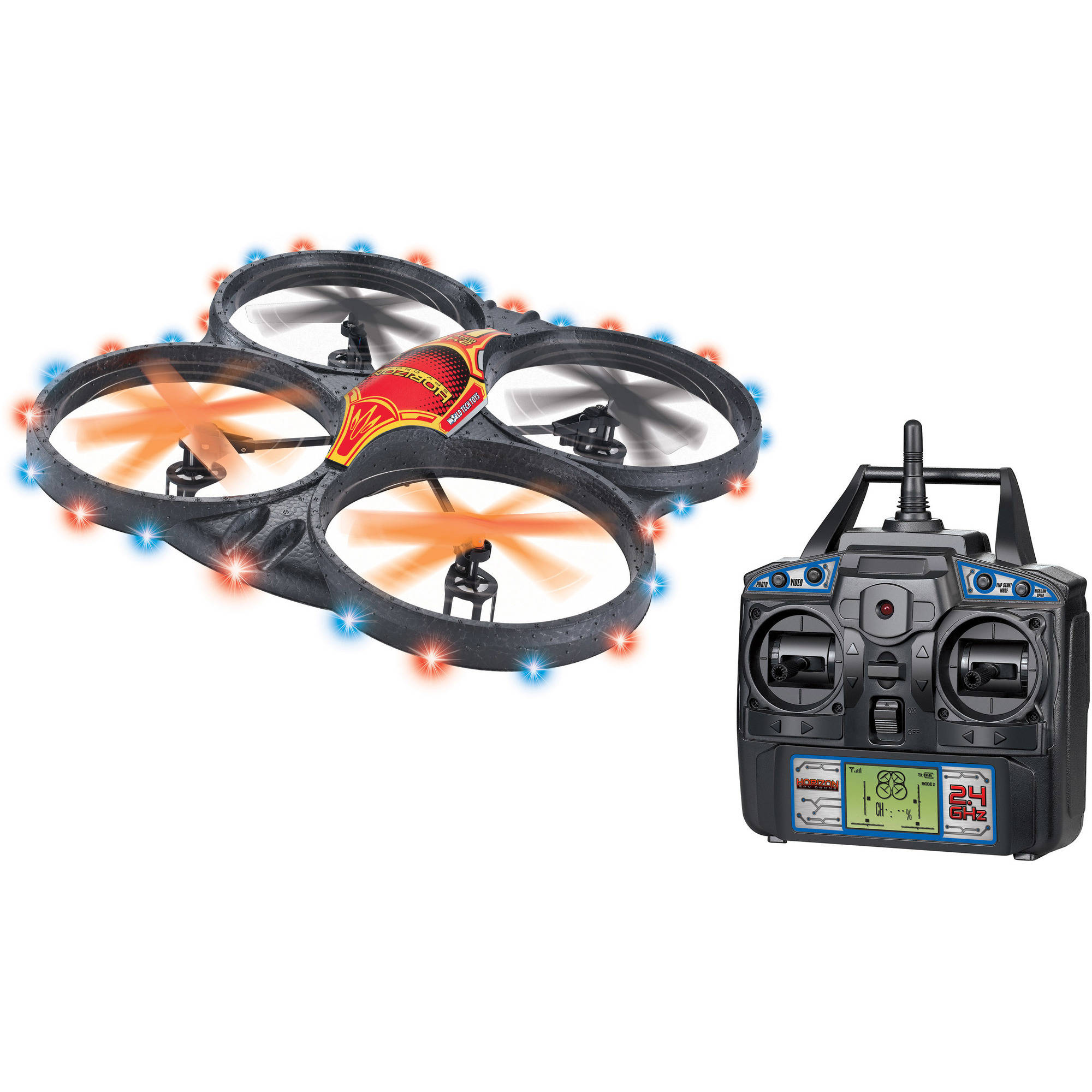 2.4Ghz 4.5-Channel Horizon Spy Drone Picture and Video Remote Control Quadcopter by World Tech Toys